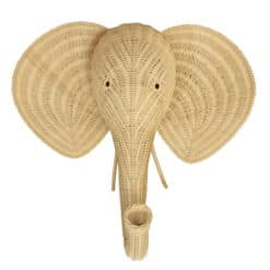 Decoratiune de perete in forma de elefant