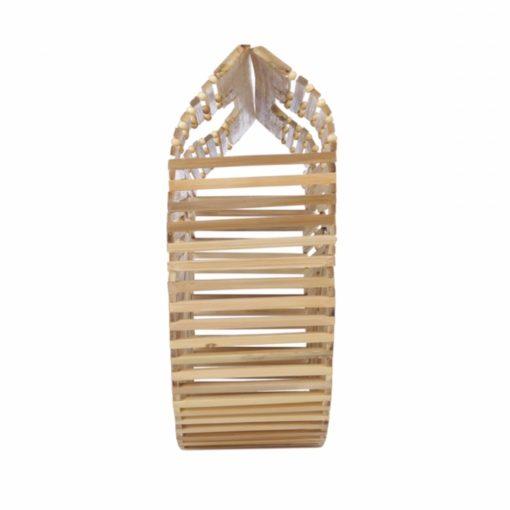 Geantă din bambus Frangipani