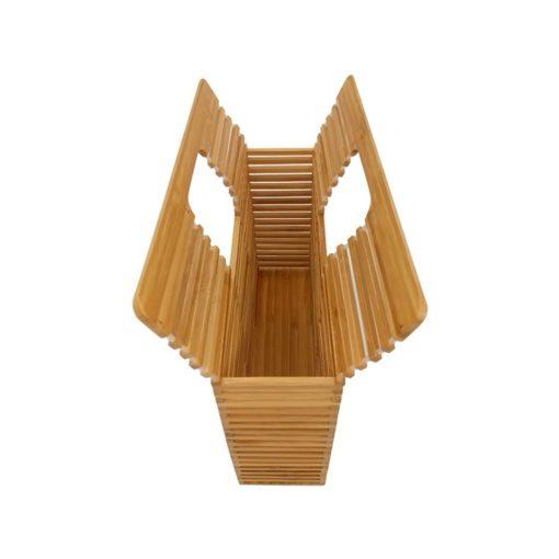 Geantă din bambus Hibiscus