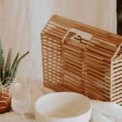 Geanta din bambus