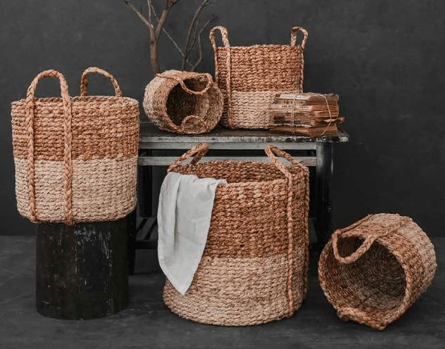 Cumpără coș depozitare Cam Lap din zambilă de mare pentru a aduce natura în casa ta.