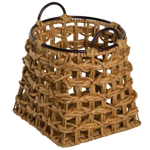 Alege cos depozitare Hon Chut din iarba de mare cu manere metalice.