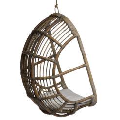 Scaun suspendat din ratan Muna