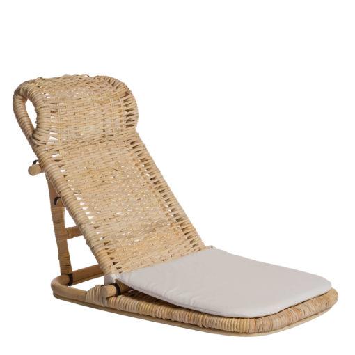 Alege scaun tatami din ratan Mandioli.